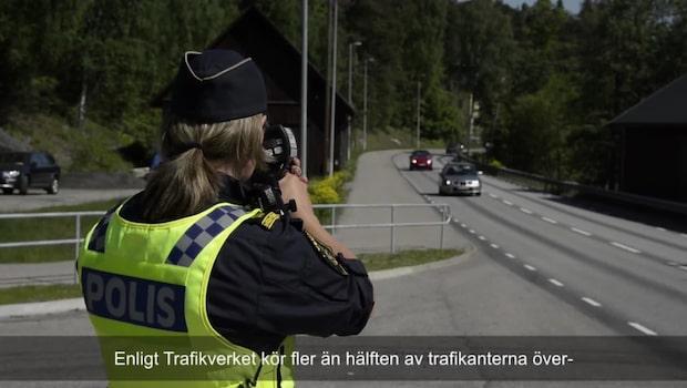 Så gör polisen hastighetskontroller