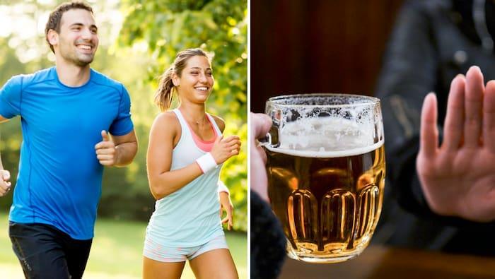 dryck innan träning