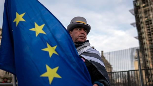 EU röstar ja till brexitavtal - för sista gången