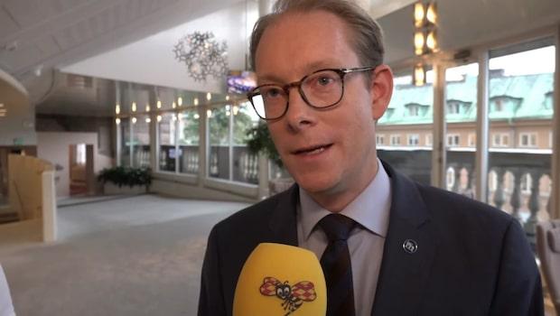 """Tobias Billström efter vinsten i slantsinglingen: """"Viktigt"""""""