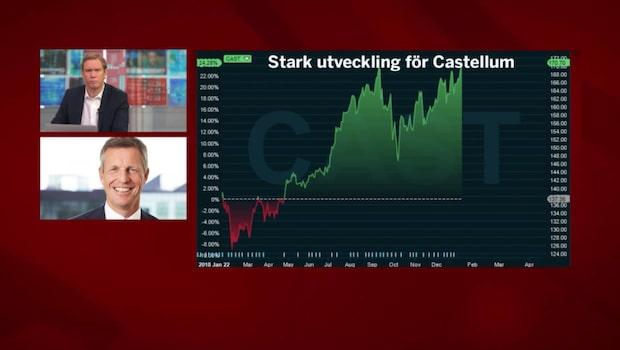"""Castellums vd: """"Fantastiskt slut på 2018"""""""