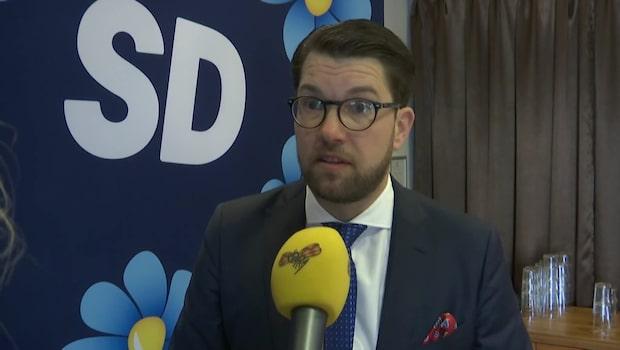 Åkesson: Lättaste sättet att slippa dödsstraff är att låta bli att våldta eller mörda