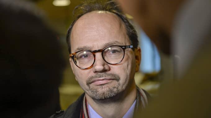 Tomas Eneroth (S). Foto: HENRIK MONTGOMERY / TT