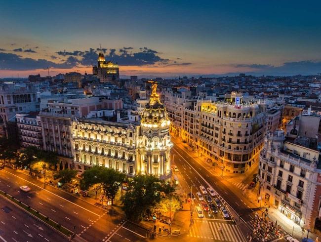 Madrid är den spanskaste av alla spanska städer enligt Hemingway.