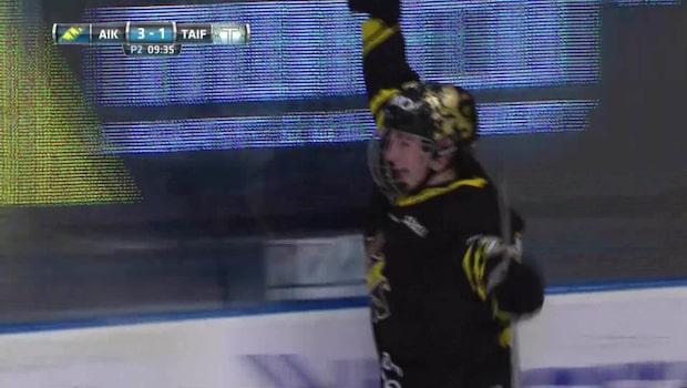 Höjdpunkter: 16-årige talangens show när AIK vann