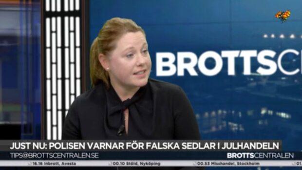 Advokat Johanna Björkman: Lagstiftaren ser allvarligt på penningförfalskning
