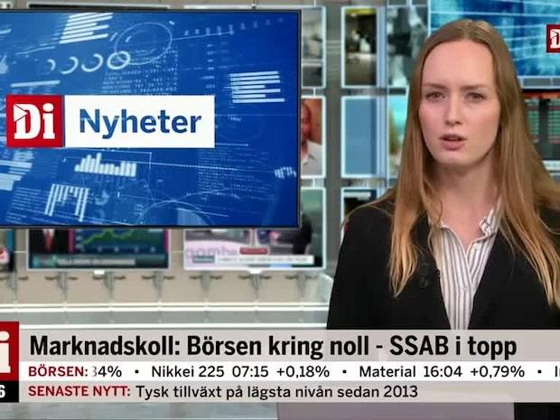 Di Kvällskoll: Sektorkollegans rus lyfter SSAB