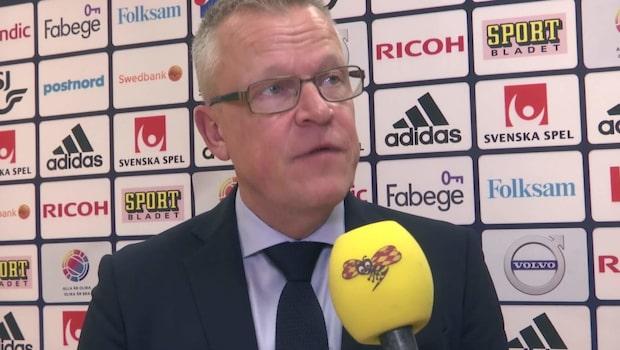 "Janne Andersson: ""Vi är favoriter"""