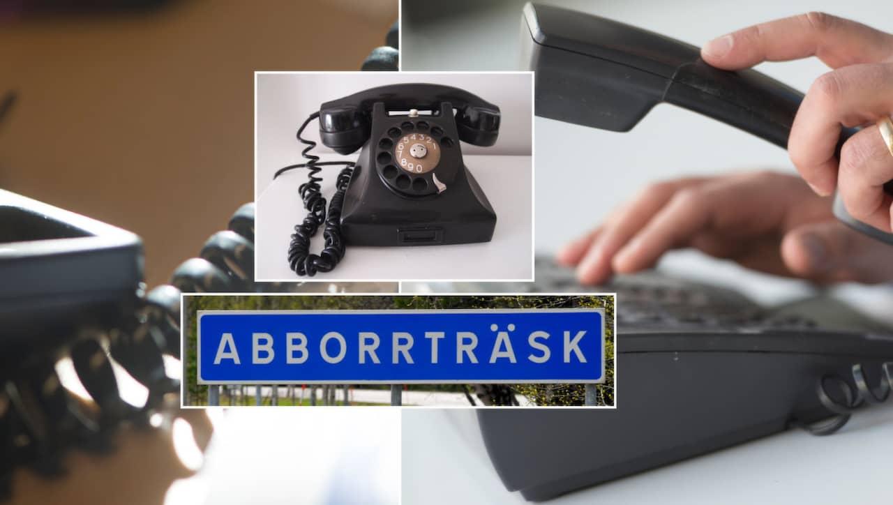 fel på fasta telefonen