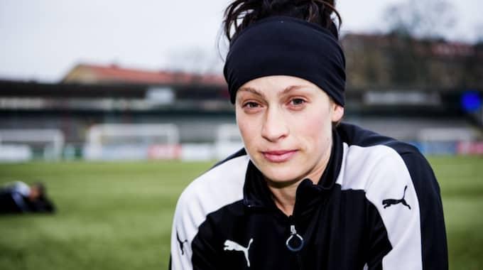 Ella Masar är en av spelarna som ska träna med MFF. Foto: Christian Örnberg