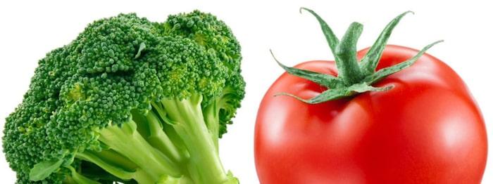 grönsaker med mycket järn