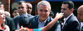 Konservativ vinnare i presidentvalet i Colombia