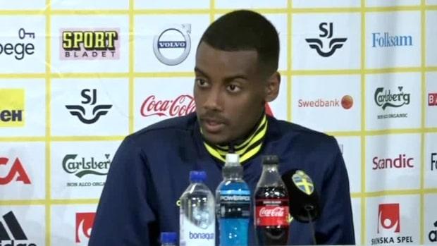 """Alexander Isak om Barcelona: """"Snackas om det överallt"""""""