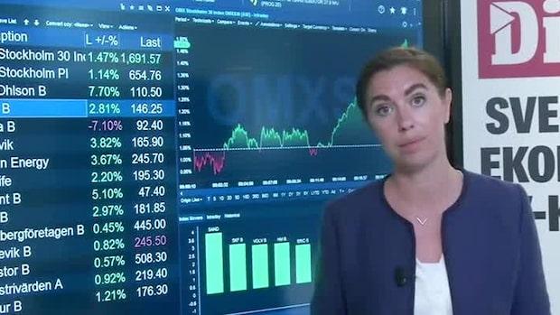 Marknadskoll: SCA och Getinge i botten av storbolagsindex