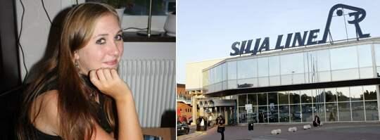 Tulltjänstemännen vid Silja Line-terminalen tvingade Sofia, 19, att klä av sig när hon och hennes kompisar skulle ta en kryssning till Åland. Foto: Läsarbild och Sven Lindwall
