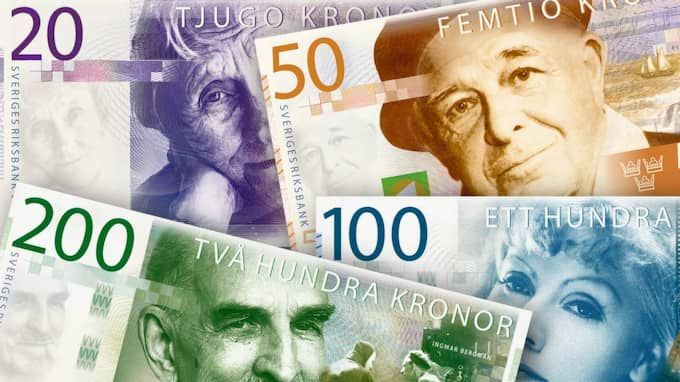 Efter bytet av de nya sedlarna ökar nu risken för för bedrägerier och svarta pengar i omlopp. Foto: RIKSBANKEN