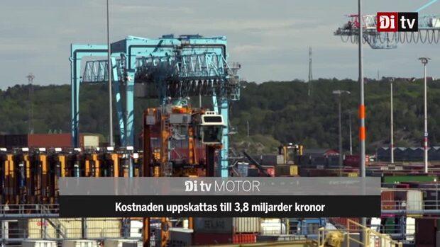 Miljardsatsningen i Göteborgs Hamn ska öka godstrafiken