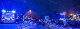 Arlanda stänger bana – SMHI varnar för snöfall