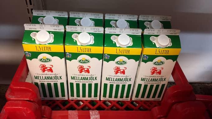 Arla återkallar 100 000 liter mjölk. Foto: LÄSARBILD