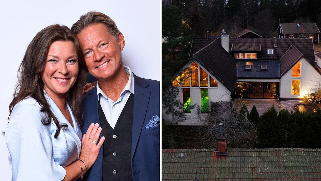 """Soldoktorn"""" säljer villan – blir sambo med Lotta Engberg"""