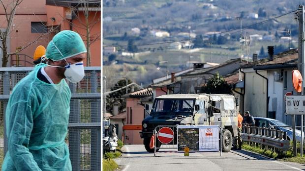 Stad i Italien stoppade smittan på två veckor