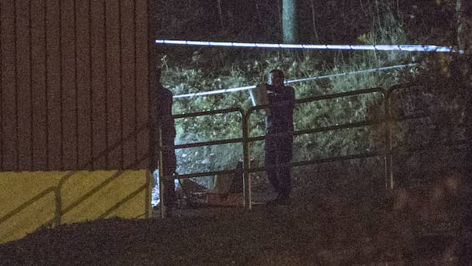 David Isho sköts till döds med flera skott i närheten av en fotbollsplan i Angered. Foto: HENRIK JANSSON