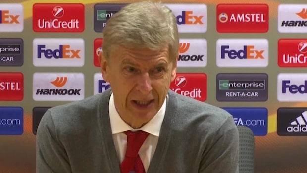 """Wenger om kaoset: """"De förstör kvällen"""""""