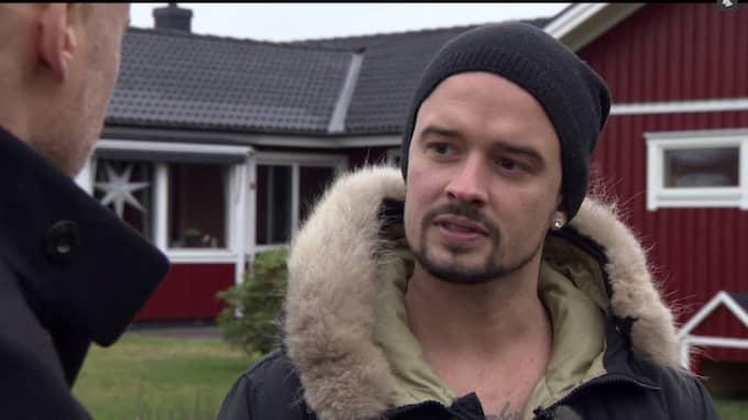 """""""Jag tror att han gett upp"""", säger Christians kompis Magnus i programmet. Foto: TV3"""