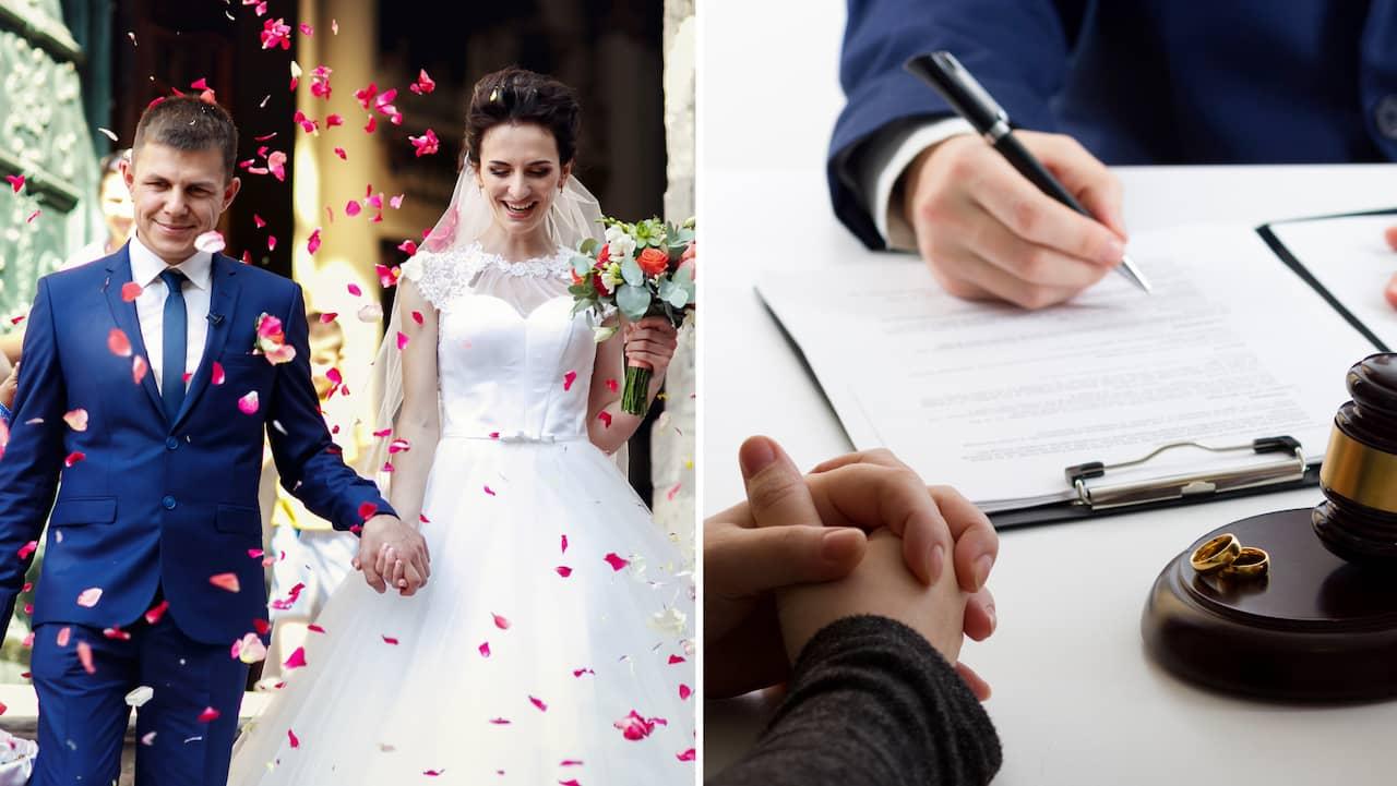 Samma regler torde gälla för äktenskapsförord och testamente.