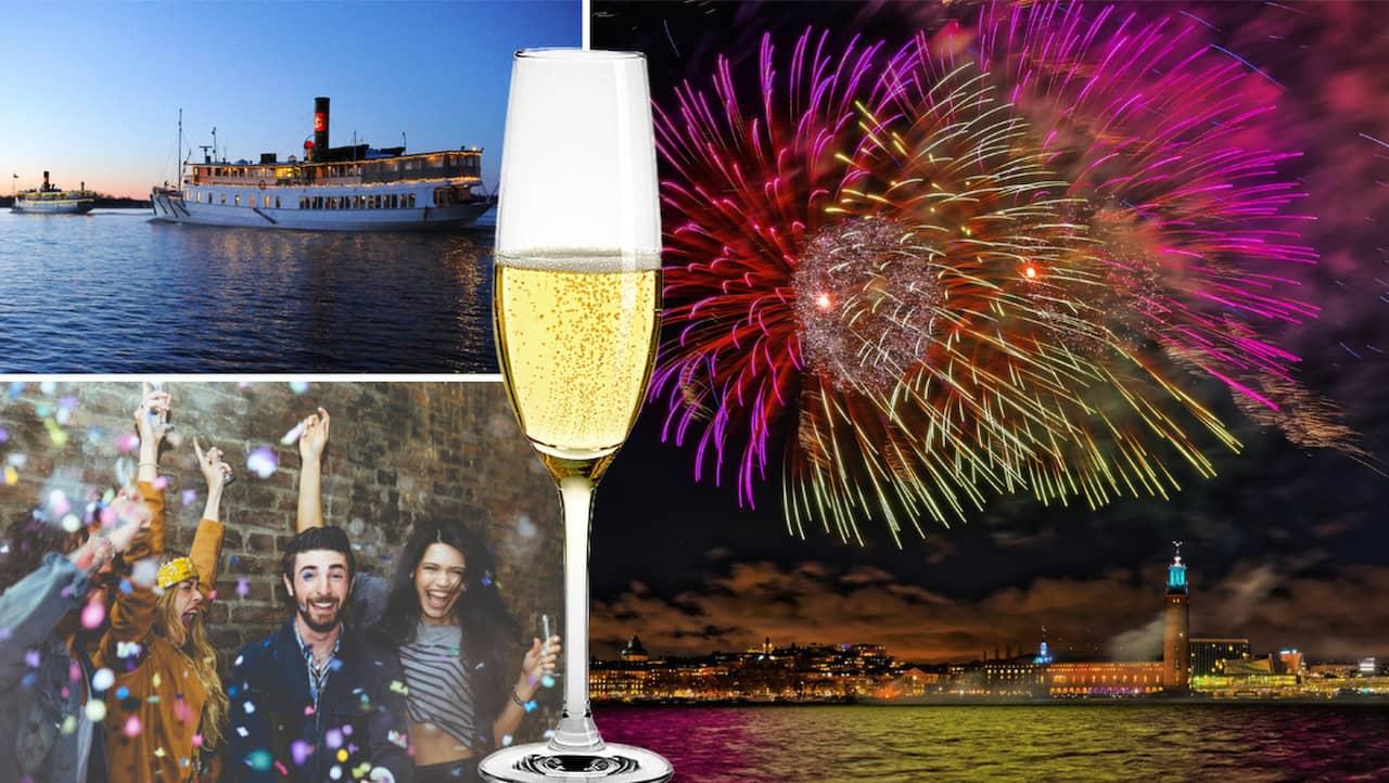 spapaket nyår stockholm