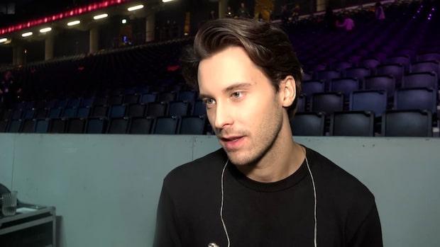 Victor Crone testades för coronaviruset – dagar innan finalen