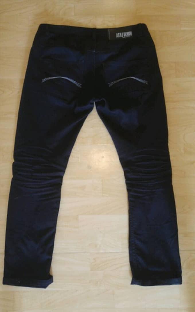 Här är de nya jeansen. Foto: Privat