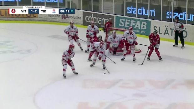 Höjdpunkter: Vita Hästen-Timrå i hockeyallsvenskan