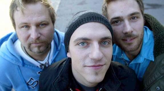 Trion har tidigare skrivit Melodifestivalsbidrag. Foto: Håkan Wikström