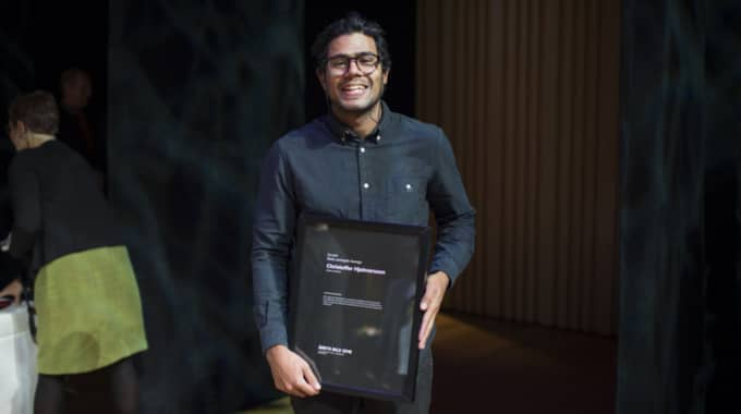 """Expressens fotograf Christoffer Hjalmarsson fick 2:a pris i kategorin """"Vardagsliv Sverige"""". Foto: Meli Petersson Ellafi"""