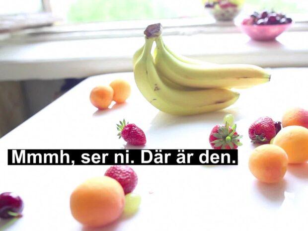 Därför ska du inte pilla bort bananens äckliga trådar