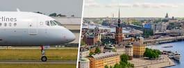 Snart blir flygtrafiken över Stockholm tystare