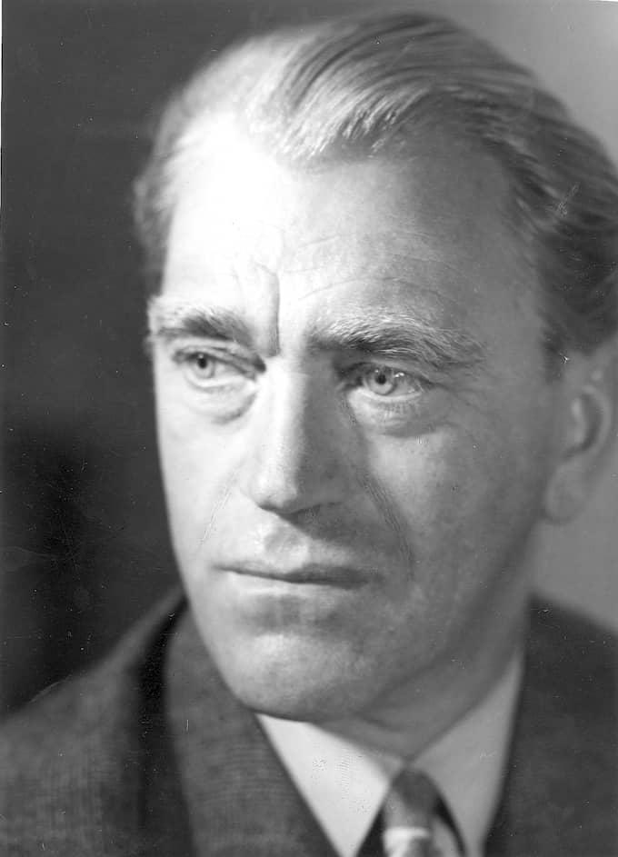 Vilhelm Moberg 1948. Foto: ARKIV / PAPPERSARKIVET