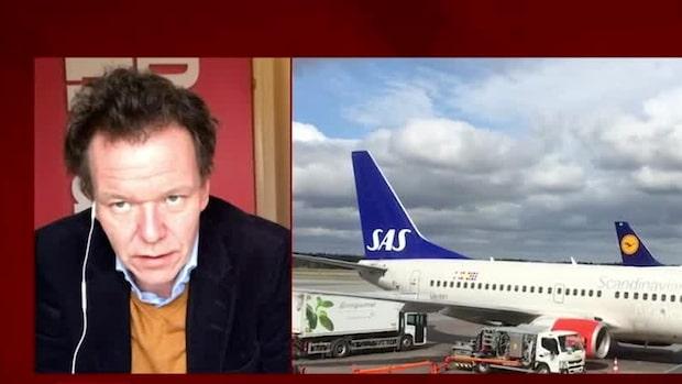 """Petersson om SAS: """"Man drar ner på kapacitet för att minska förlust"""""""