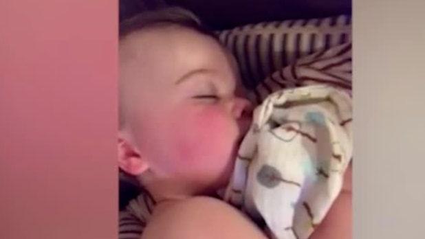 Mammans varning: Bebisar kan få coronaviruset