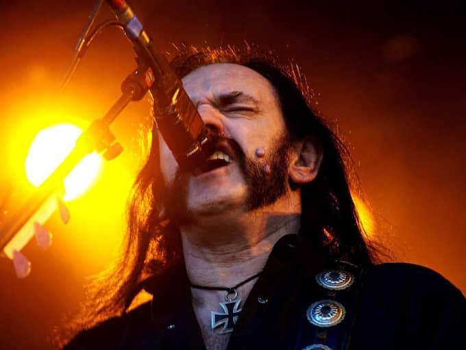 Motörheads Lemmy Kilmister dog under natten till tisdagen i sviterna av en extremt aggressiv form av cancer. Foto: Emilia Olofsson