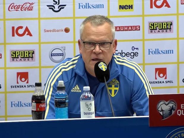 """Andersson: """"Har inte bestämt startelvan – officiellt"""""""