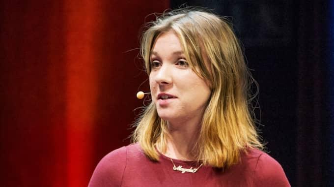 Tidigare riksdagsledamoten och ordföranden för Grön ungdom Magda Rasmusson menar att Åsa Romson behöver bytas ut. Foto: Jens L'Estrade