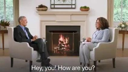 Obama och Oprah är inte i samma rum – men det är omöjligt att fatta