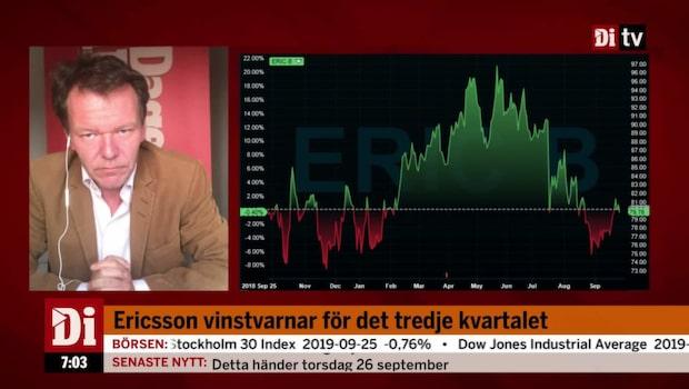 Ericsson vinstvarnar för det tredje kvartalet