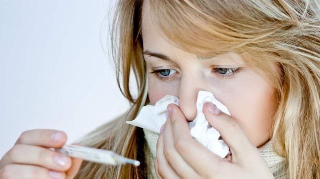 """""""Det kan vara en bakteriell infektion som kräver en antibiotikakur. Men det kan även röra sig om allergi""""."""