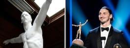 Här är Zlatan-statyns nya hem