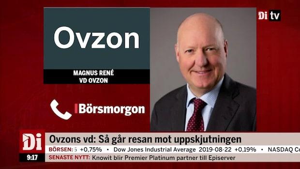 """Ovzon:s vd: """"Vi ser att vi har en nisch som kommer finnas kvar"""""""