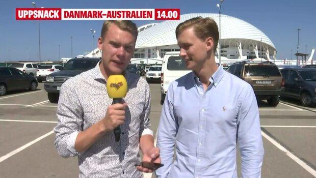 Uppsnack: Danmark–Australien