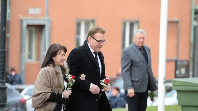 Christer Sjögren med hustru Birgitta. Foto: SIMONE SYVERSSON